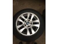 16 inch BMW alloy wheels