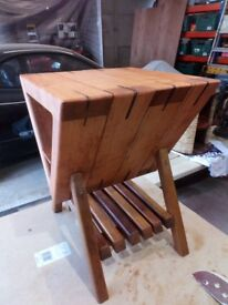 various bespoke handmade one offs coffee tables and side tables and other woodwork items