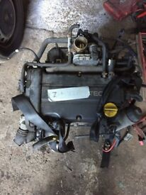 Vauxhall Astra H 1.4 TwinPort complete engine 04-09 z14xep