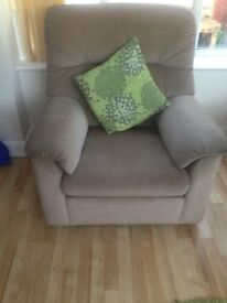 2 Parker knoll high back chairs
