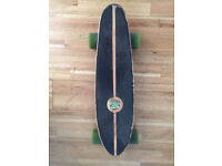 Osprey Pin Stripe mini cruiser / longboard/skateboard