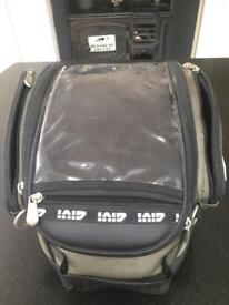 Motorcycle tank bag luggage