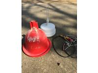 Automatic Hanging Plastic Drinker for Hen Poultry Chicken Water System