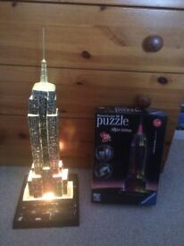 Ravensburger 3D Empire State Building (Good Condition)