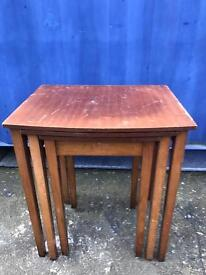 Nest of 3 tables FREE DELIVERY PLYMOUTH AREA