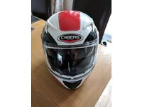 Motorbike helmet, only worn twice!