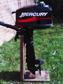 MERCURY 4HP 2 STROKE BOAT OUTBOARD S SHAFT 2001