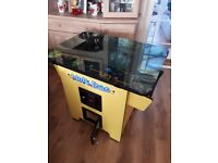 Retro pacman, space invader, games machine with approx 79 games