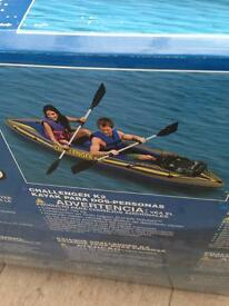 Inflatable Kayaks and rafts various sizes