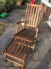 John Lewis Sun Lounger, New and un-used, unwanted present.