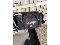 Vango 600 tent and single camp bed