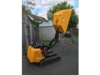 JCB htd5 high tip tracked tipper