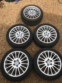 Alloy wheels Vauxhall 5 stud multi spoke