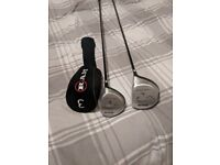 Driver and 3 Wood Good condition