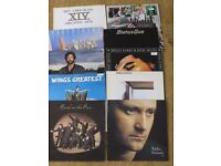 10 double and single Vinyl albums from Clapton Phil Collins Dire Straits and others