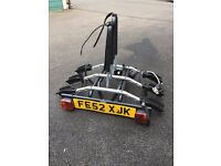 Thule 3 Bike Rack to fit tow bar, hardly used