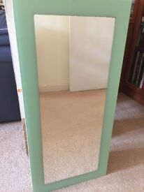 White Bathroom Cabinet with Mirror & 2 shelves