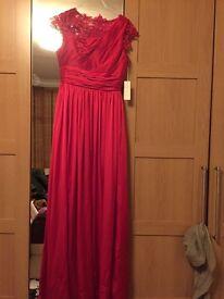 Long new evening dress