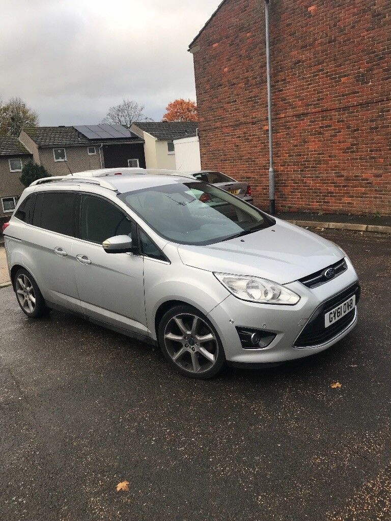 2012 FORD GRAND CMAX TITANIUM 7 SEATER AUTO