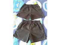 2 X School PE Shorts – age 4 -5