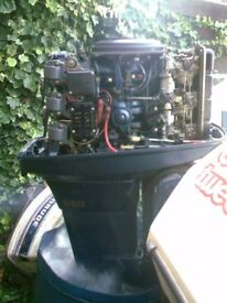 YAMAHA 75 HP LONG SHAFT 2IN1 CONTROLS VERY GOOD