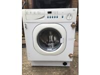 Integrated baumatic washing machine