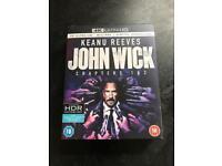 John Wick 1+2 4k Ultra HD Blu-ray with digital download box set