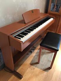 Yamaha clavinova digital 88 key weighted keyboard