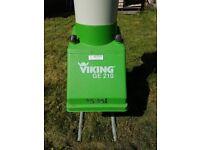 Viking GE210 garden shredder