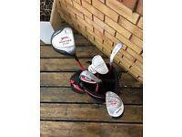 Children's Slazenger bag and clubs ...starter set