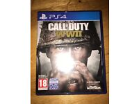Call of Duty WW2 PS4 Game As New