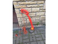Flymo electric grass strimmer