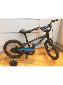 "Kids Specialized 16"" hot rock bike"