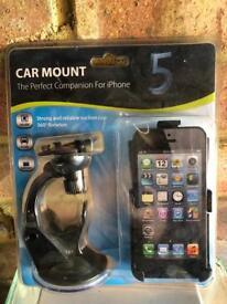Iphone 5 car mount NEW