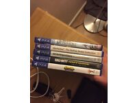 PS4 GAMES 5 FOR £50