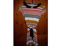 'Be Beau' Vintage peter pan collar tea dress, size 10
