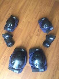 K2 Junior Triple Pad Set - elbow, wrist and knee skate protection set - size XS