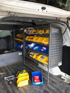 caddy shelving for vans