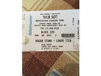 2 x Taylor Swift Dublin 15th June tickets