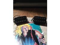 Vintage Seymour Duncan pickups 1987 MJ