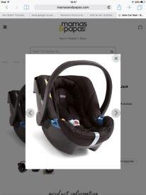 Mamas & Papas baby car seat *reduced £40*