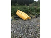 13 foot rowing boat Boat only , no Trailer