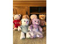 Build A Bear Bears with Accessories