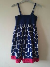 Summer dress for girls age 10 yrs old.
