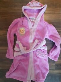 Disney princess bathrobe age 5-6