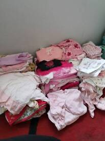 First size and 0-3 months baby girls clothes