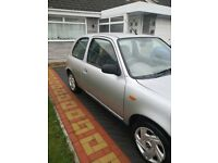 Quick sale,Nissan, MICRA, Hatchback, 2002, Other, 998 (cc), 3 doors