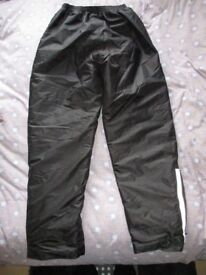 Buffalo Waterproof Thermal Motorcylce Over Trousers 34/L