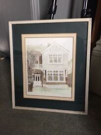 Framed painting/ picture original acrylic