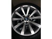 """Bmw 17"""" wheels x3"""